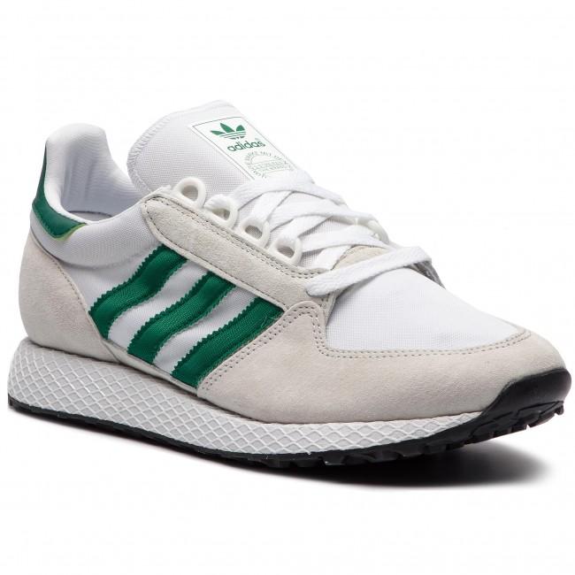 Chaussures adidas Forest Grove B41546 Crywht CVert CNoir Baskets