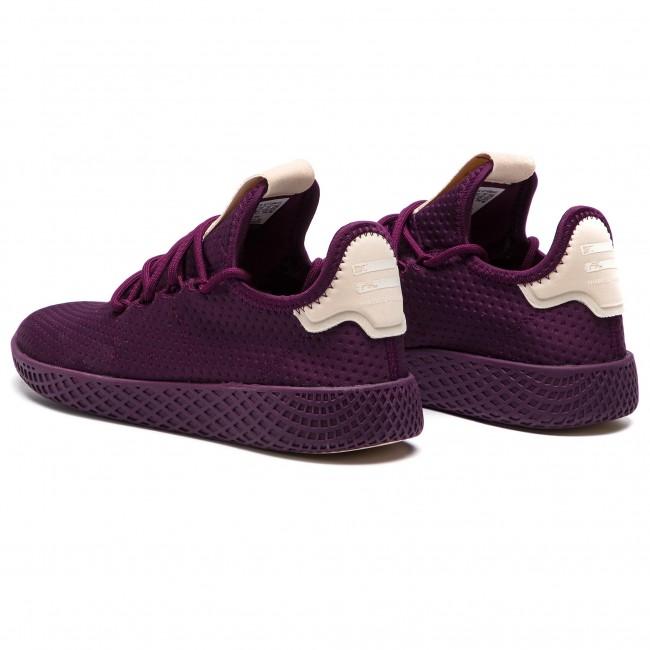 4a66ff2a8fe Shoes adidas - Pw Tennis Hu W B41892 Rednit Rednit Owhite - Sneakers ...