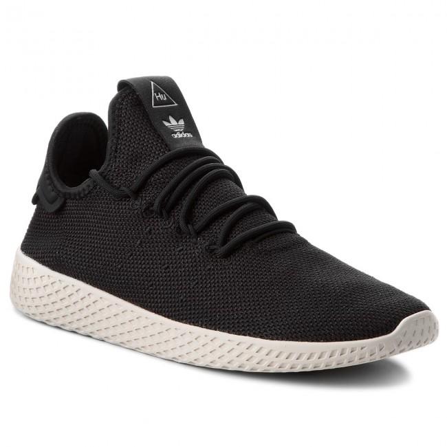 f00bdf108a5 Shoes adidas - Pw Tennis Hu AQ1056 Cblack Cblack Cwhite - Sneakers ...
