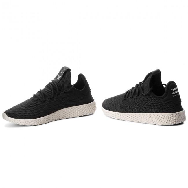 72153dce08 Shoes adidas - Pw Tennis Hu AQ1056 Cblack Cblack Cwhite - Sneakers ...