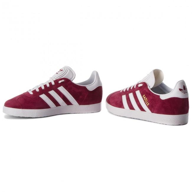 Shoes adidas - Gazelle B41645 Cburgu Ftwwht Ftwwht - Sneakers - Low ... 9d875c73a