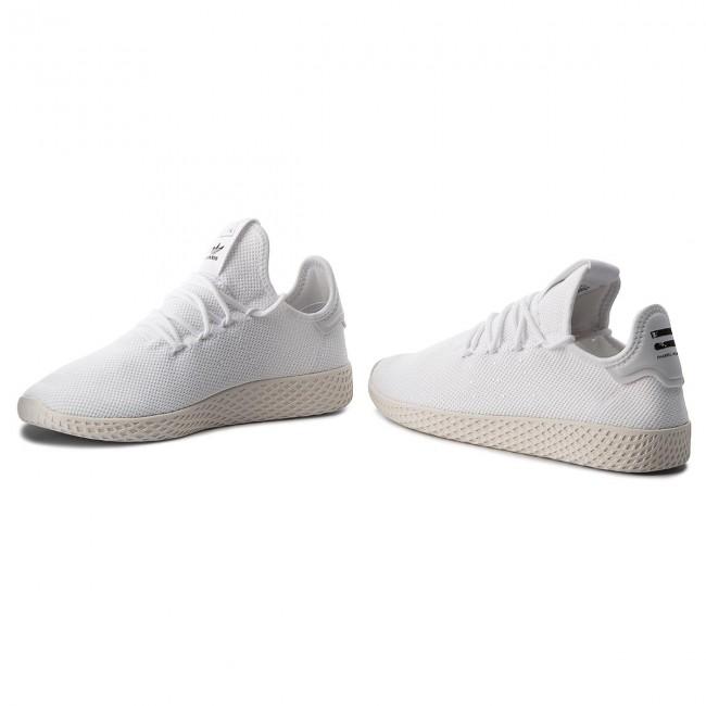 Shoes adidas - Pw Tennis Hu B41792 Ftwwht Ftwwht Cwhite - Sneakers ... 28066e0d0