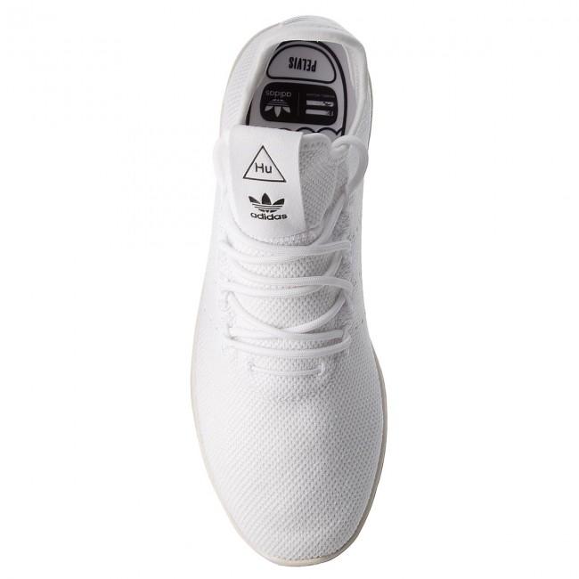 Shoes adidas - Pw Tennis Hu B41792 Ftwwht Ftwwht Cwhite - Sneakers - Low  shoes - Men s shoes - www.efootwear.eu 0359f6fdb