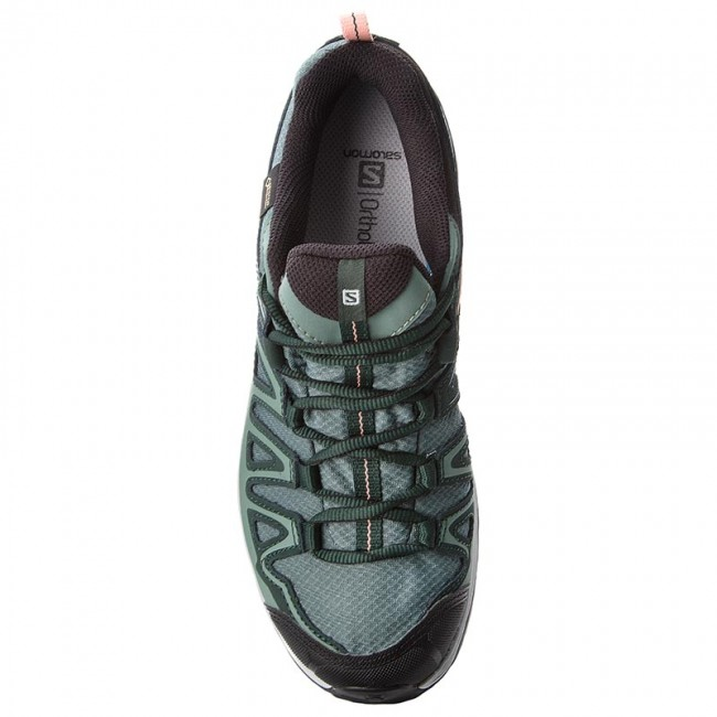 Trekker Boots SALOMON X Ultra 3 Prime Gtx W GORE TEX 401316 24 W0 Balsam GreenDarkest SpruceCoral Almond