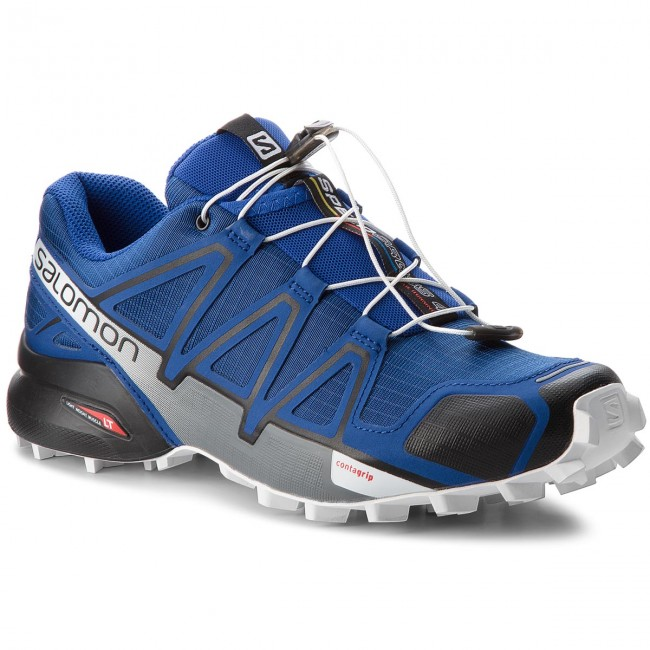b2117a1b0d6 Shoes SALOMON - Speedcross 4 404641 27 V0 Mazarine Blue Wil/Black/White