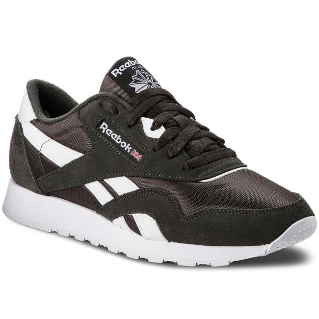 68425b13c78 Shoes Reebok - Cl Nylon M CN3266 Dark Cypress White - Sneakers - Low ...