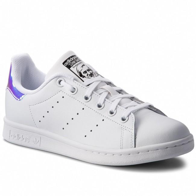 563d25ff155ce Shoes adidas - Stan Smith J AQ6272 Ftwwht Metsil Ftwwht - Sneakers ...