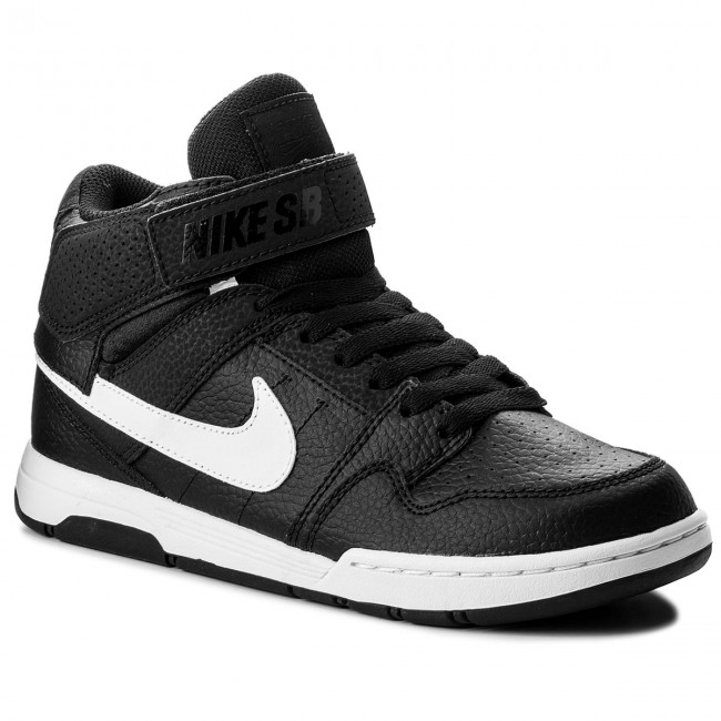 9ba2c60c32 Shoes NIKE - Mogan Mid 2 Jr B 645025 015 Black/White - Sneakers ...