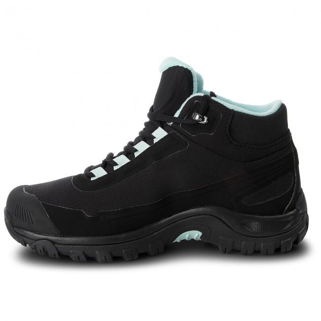 Chaussures de trekking SALOMON Shelter Cs Wp W 404731 21 V0 BlackBlackEggshell Blue