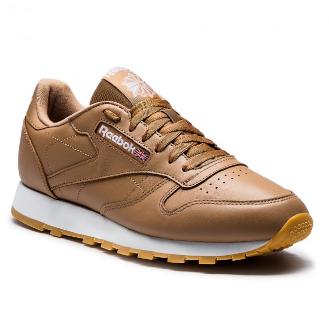 64b1659ef Shoes Reebok - Cl Leather Mu CN5768 Soft Camel White Gum - Sneakers ...