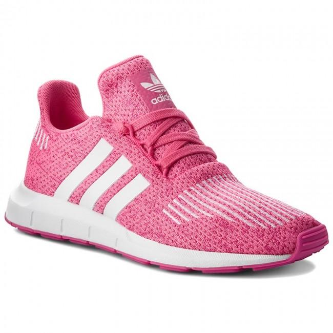 Scarpe adidas swift run j b37117 sesopk / ftwwht / sesopk scarpe