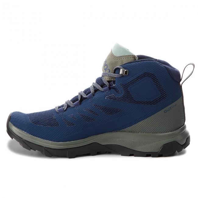 Trekker Boots SALOMON Outline Mid Gtx GORE TEX 404764 27 MRmLO