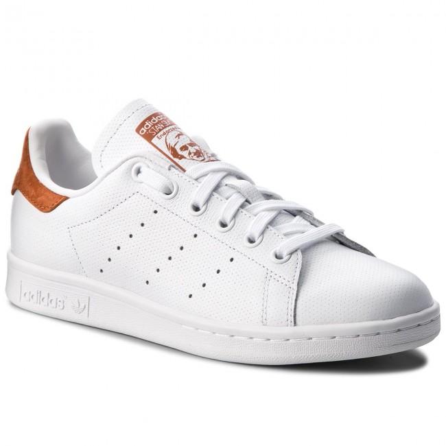Sko Ftwwht adidas Stan Smith B38040 Ftwwht Sko Ftwwht FoxRød Sneakers 26fc61
