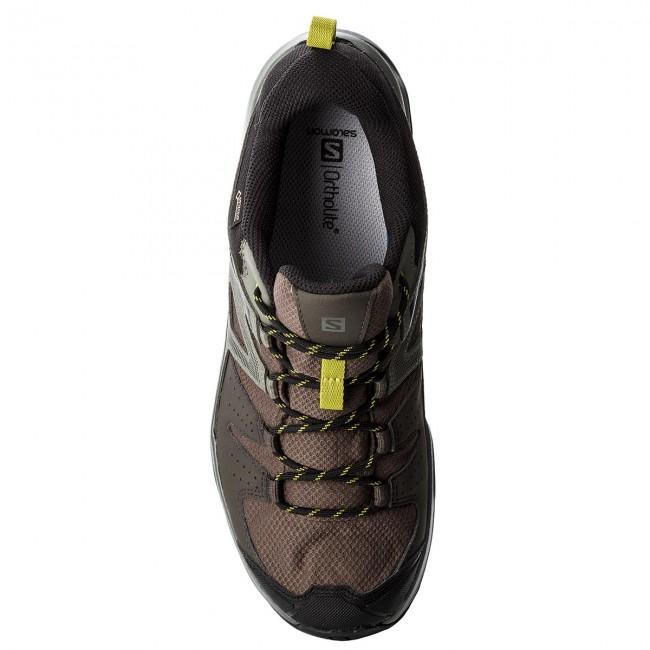 Trekker Boots SALOMON X Radiant Gtx GORE TEX 404828 29 M0 BelugaCastor GrayCitronelle