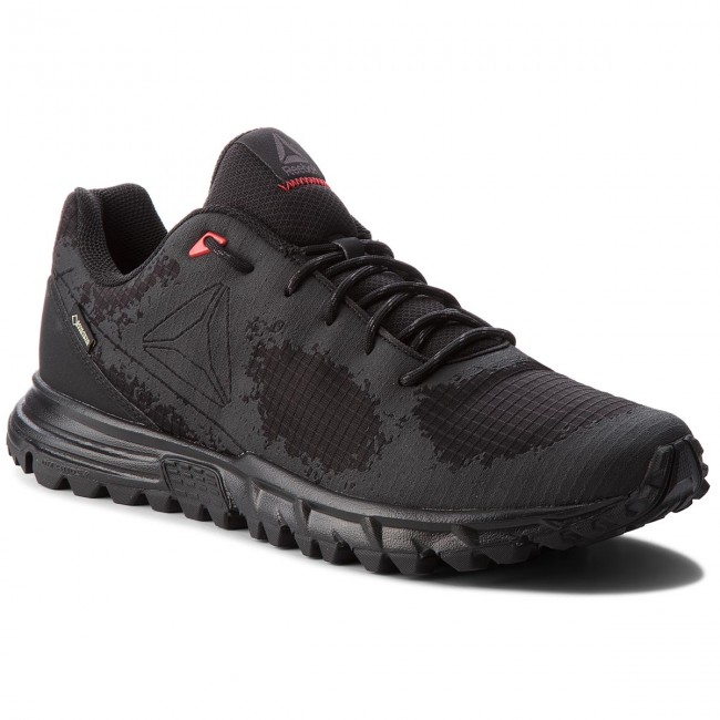 ReebokSAWCUT GTX 6.0 - Trail running shoes - Black/Ash Grey/Primal Red nC1rzRo8lj