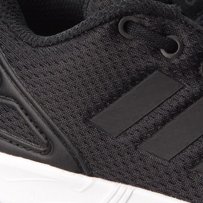 83c05f1e10c47 Shoes adidas - Zx Flux C BB9105 Cblack Cblack Ftwwht - Laced shoes ...