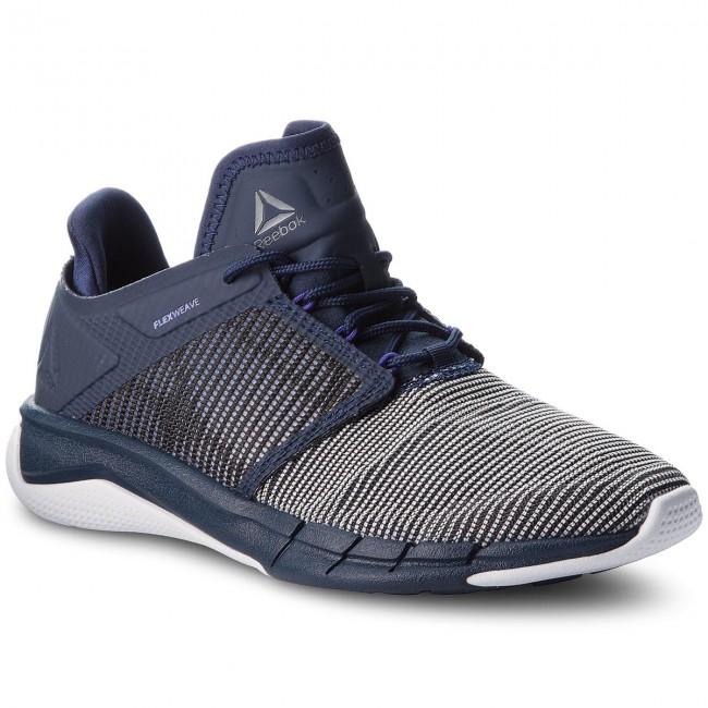 44bacd6ff338 Shoes Reebok - Fast Flexweave CN2536 Navy Purple White - Indoor ...