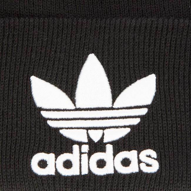 9953b461d33 Cap adidas - Trefoil Beanie BK7634 Black - Women s - Hats - Fabrics ...