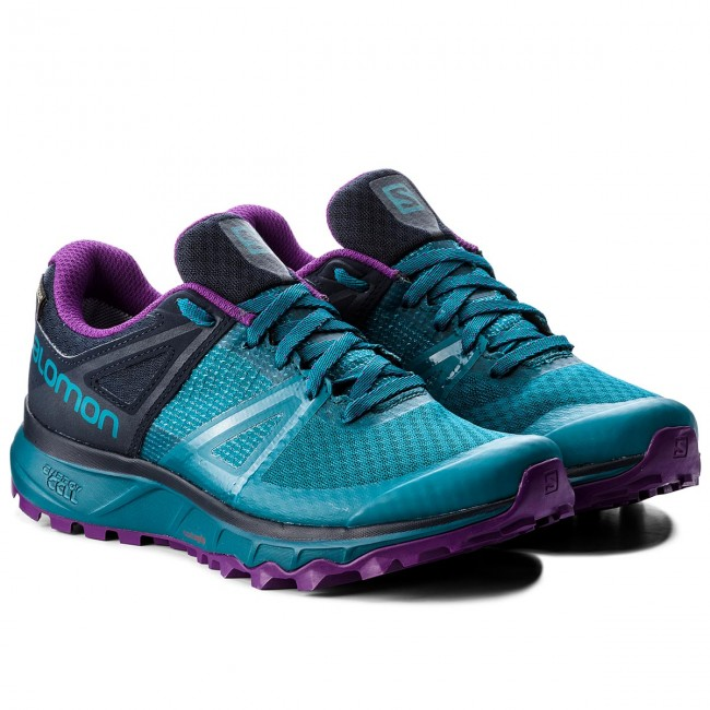 Shoes SALOMON Trailster Gtx W GORE TEX 404885 26 W0 Deep LagoonNavy BlazerPurple Magic ui3s0