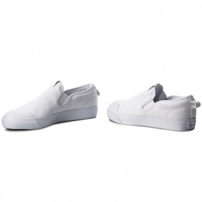 ce10e6ca0e Shoes adidas - Nizza Slipon W CQ3103 Ftwwht/Ftwwht - Sneakers - Low ...