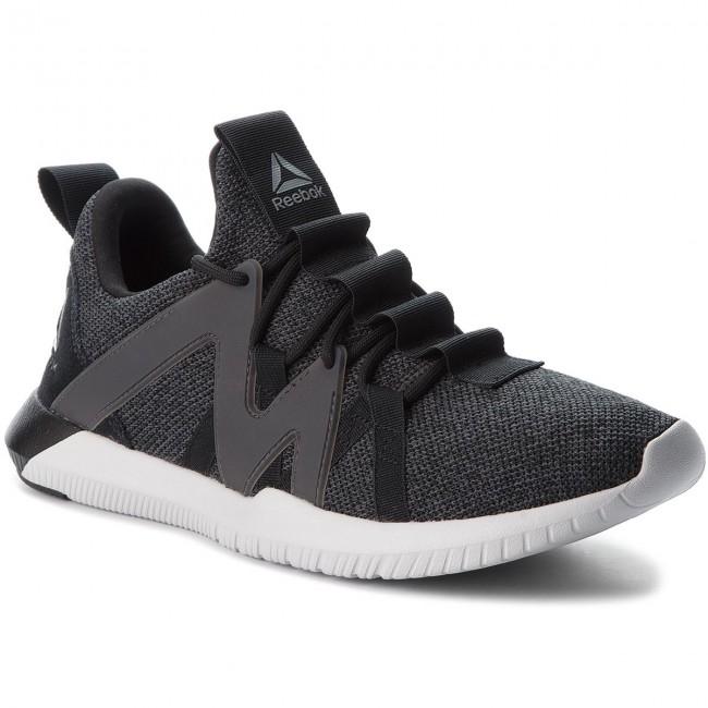 Reebok REAGO TRAIN - Sports shoes - black/grey/porcelain u3OfzN2