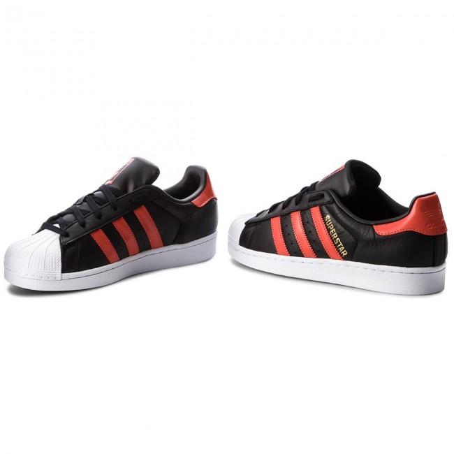 Shoes adidas - Superstar B41994 Cblack Borang Ftwwht - Sneakers ... f1c2aad2a4