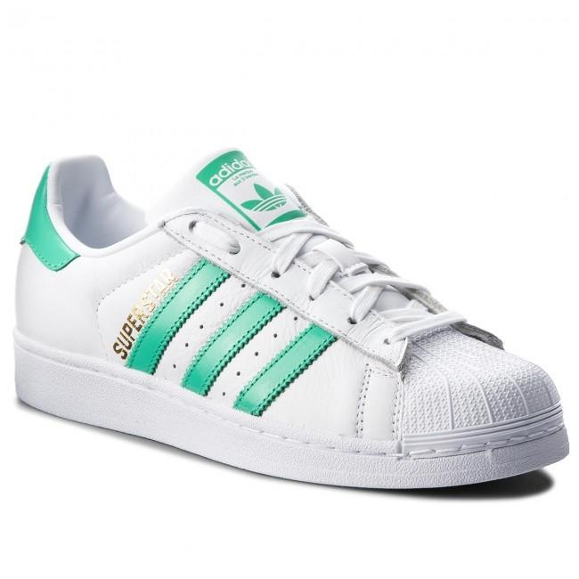666c391d37fb5 Shoes adidas - Superstar B41995 Ftwwht Hiregr Goldmt - Sneakers ...