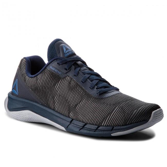8dba743561f Shoes Reebok - Fast Flexweave CN5143 Navy Shdw Blue - Indoor ...
