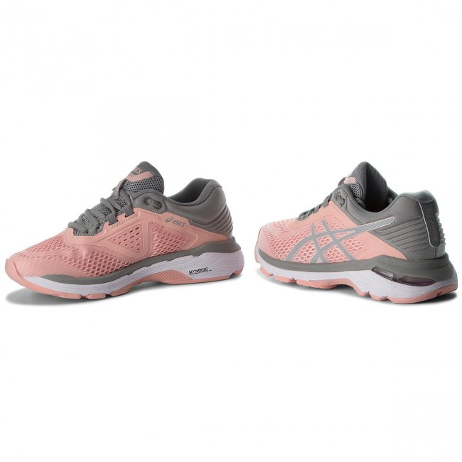 Shoes ASICS - GT-2000 6 T855N Frosted Rose Stone Grey 700 - Indoor ... 4746e0bcfe