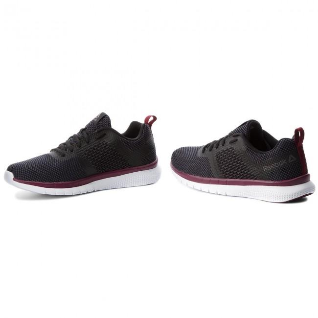 eb793b1cc64742 Shoes Reebok - Pt Prime Runner Fc CN5676 Black Coal Grey Wine Wht ...