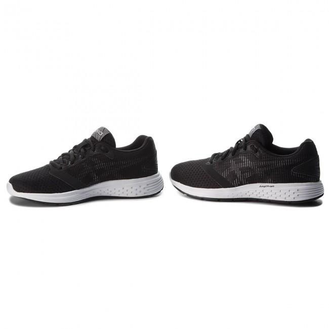 Schuhe ASICS - Patriot 10 1012A117 Black/White 002 TBlxr9F