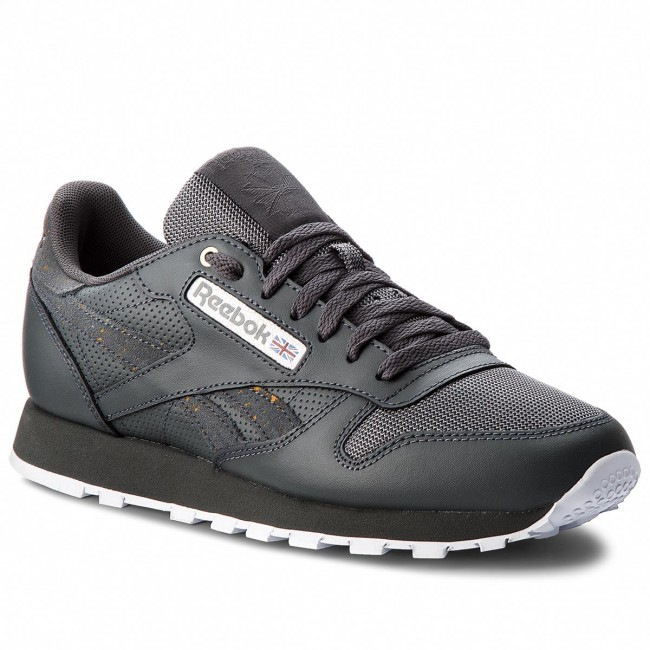 6f7360aa4a7 Shoes Reebok - Cl Leather Mu CN4890 Stealth Banana White - Sneakers ...