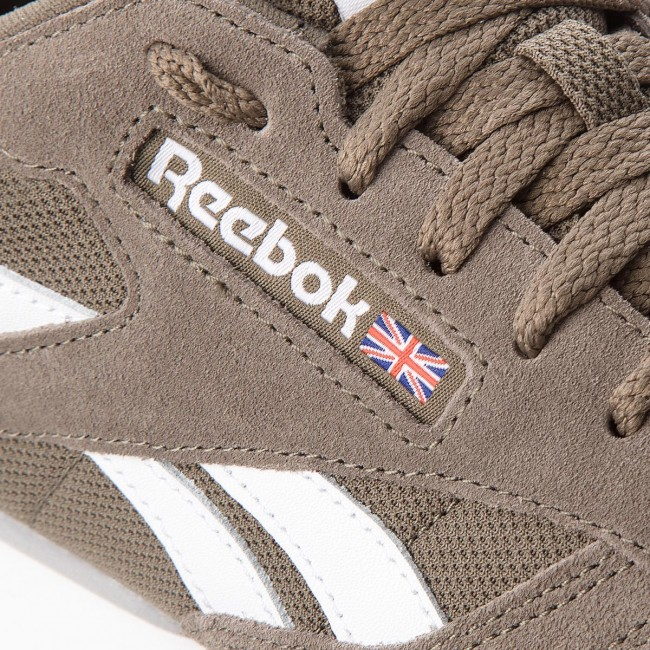 482ab5a715354 Shoes Reebok - Cl Leather Mu CN5018 Terrain Grey White - Sneakers ...