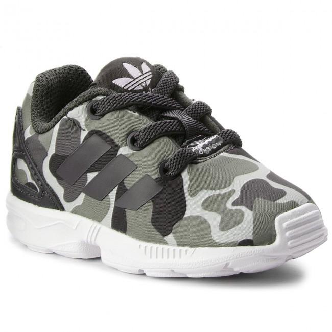 new product 121d9 35564 Shoes adidas. Zx Flux El I AQ1744 Carbon Carbon Ftwwht