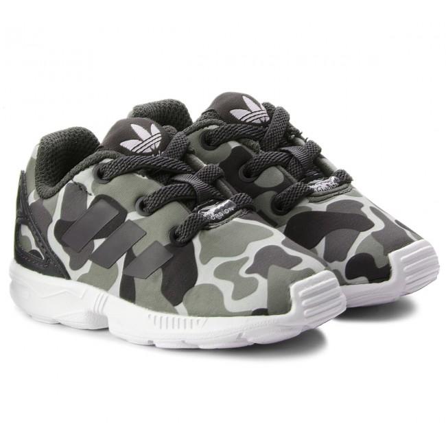 new product 16740 946d7 Shoes adidas. Zx Flux El I AQ1744 Carbon Carbon Ftwwht