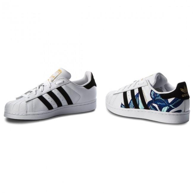 Shoes adidas - Superstar W B28014 Ftwwht Cblack Goldmt - Sneakers ... 12f73516c81