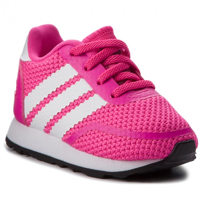 Zapatos adidas n 5923 Eli me b41579 shopnk / ftwwht / cblack resbalaron