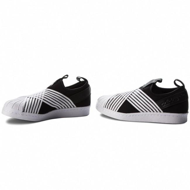 6e1ab592455a5 Shoes adidas - Superstar Slip On W D96703 Cblack Ftwwht Ftwwht ...