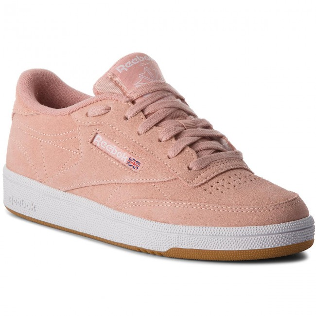 0254bf9fd04a Shoes Reebok - Club C 85 CN5202 Peach Twist Gum White - Sneakers ...