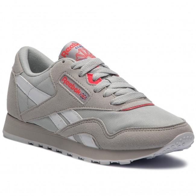 1cb7b2bb504 Shoes Reebok - Cl Nylon M Txt CN2965 Skull Grey Neon Cherry ...