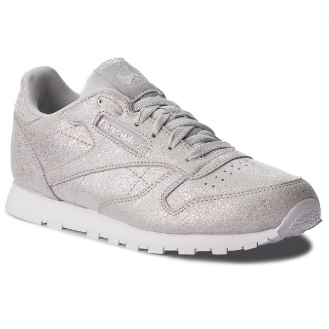 969f568580ca4 Shoes Reebok - Classic Leather CN5581 Silver Met Grey Wht - Sneakers ...