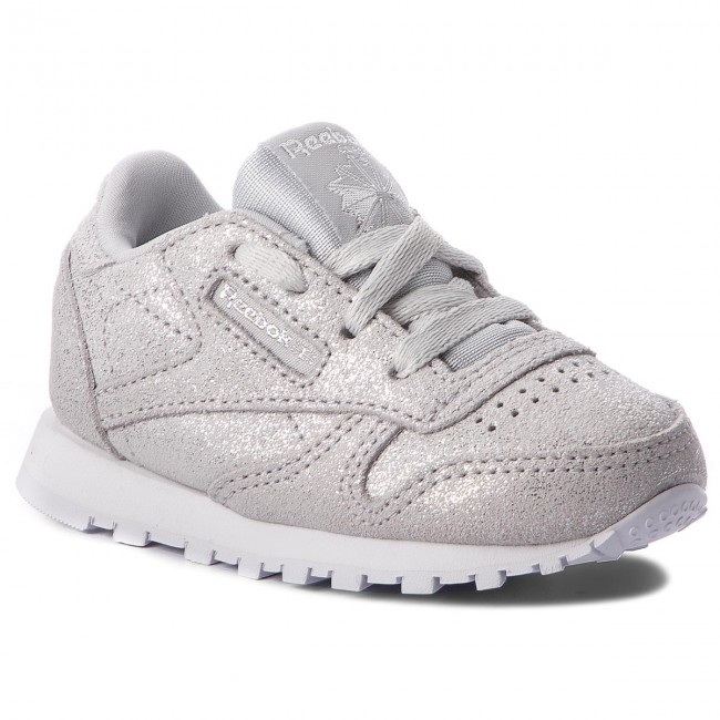 480eb8a3565 Shoes Reebok - Classic Leather CN5584 Silver Met Grey Wht - Laced ...