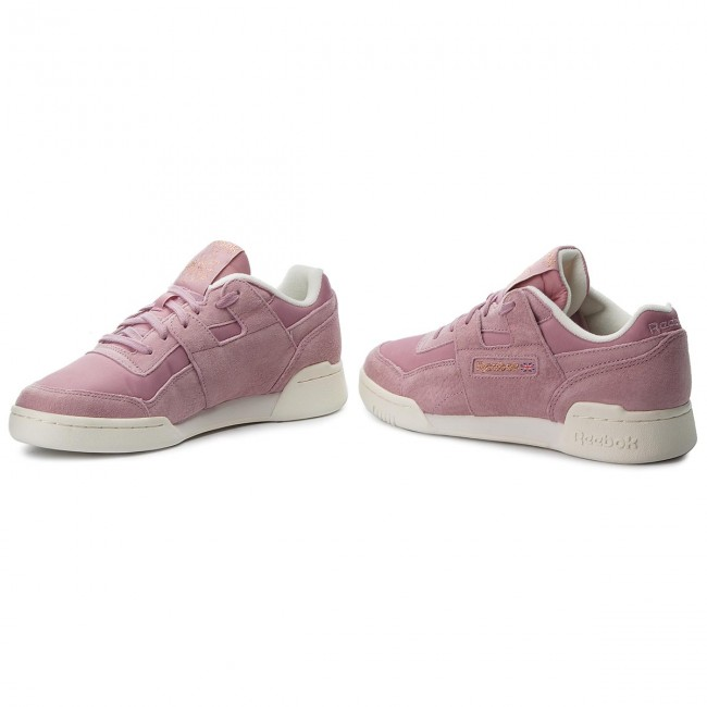 Shoes Reebok - Workout Lo Plus CN4623 Infused Lilac Chalk Rose ... 36b6fd985d5