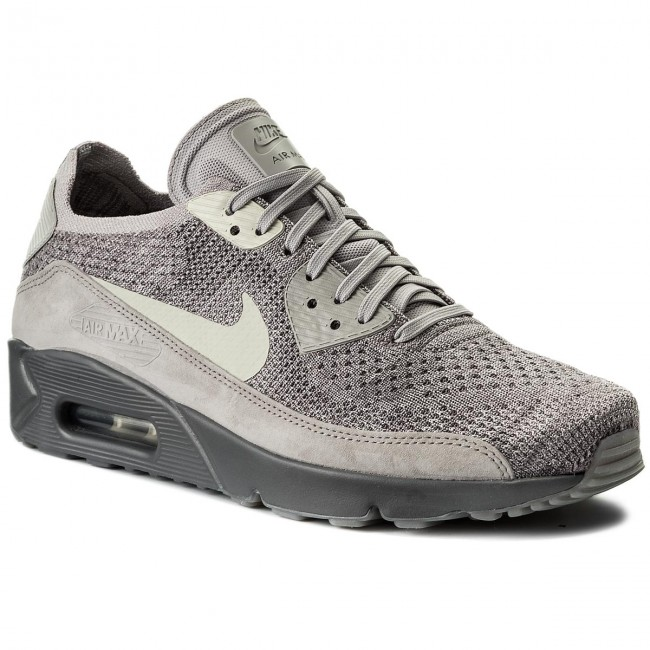 c763a4c41a31 Shoes NIKE - Air Max 90 Ultra 2.0 Flyknit 875943 007 Atmosphere Grey Light  Bone