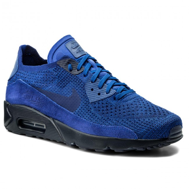 Shoes NIKE - Air Max 90 Ultra 2.0 Flyknit 875943 402 Racer Blue/Deep Royal