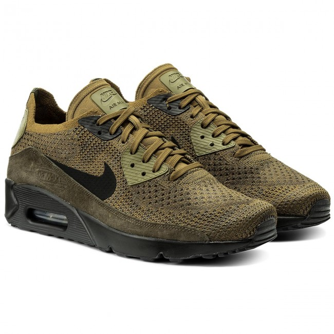 f82336a41a Shoes NIKE - Air Max 90 Ultra 2.0 Flyknit 875943 302 Olive Flak ...