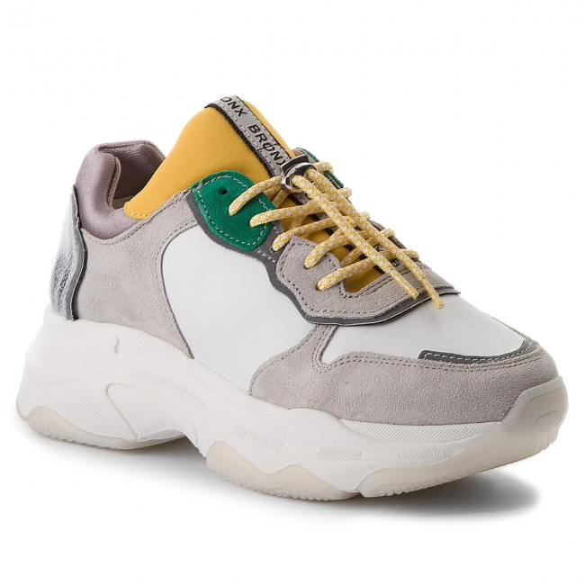 Sneakers BRONX - 66167-E BX 1525 Off White/Silver/Fuchsia 2357 tS1bCO