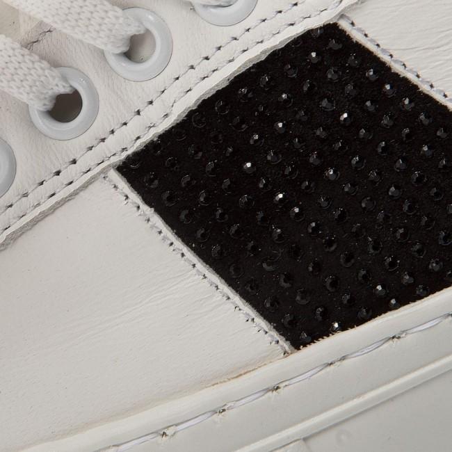 Sneakers BRONX - BsaharX 66189-A White/Black 204 fPR0OOUkd