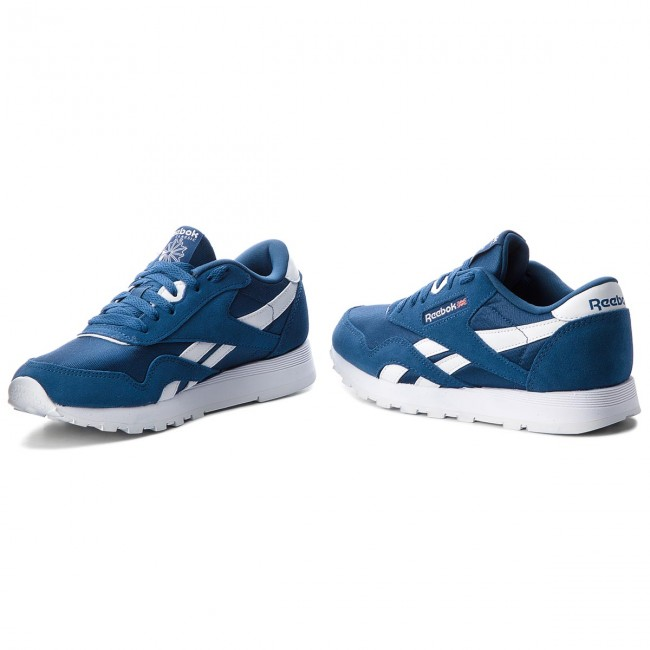 3218766bee9d7 Shoes Reebok - Cl Nylon CN5022 Bunker Blue White - Sneakers - Low ...