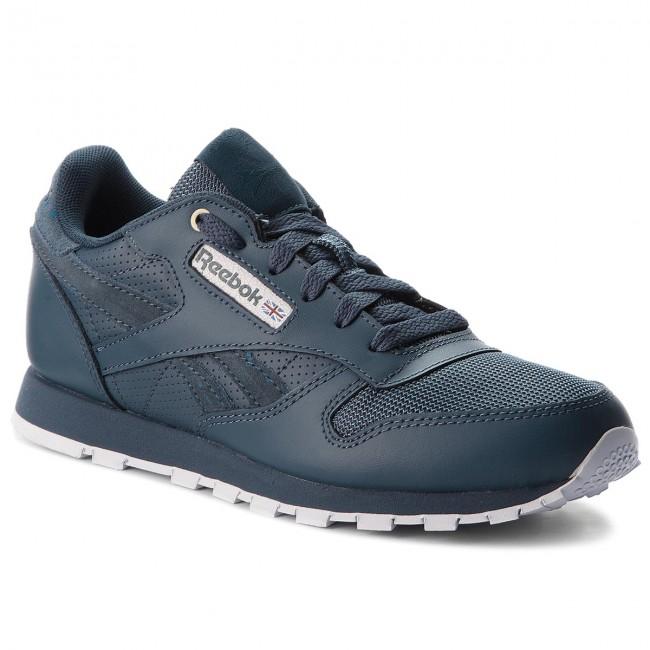 ef701bb7cdecd Shoes Reebok - Classic Leather CN5160 Deep Sea Mt Fuji White ...